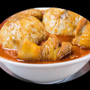 BANKU & GOAT MEAT & SOUP