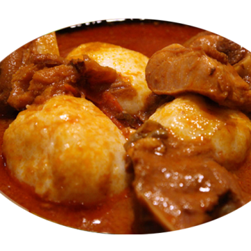 OMOTUO & COW MEAT & SOUP